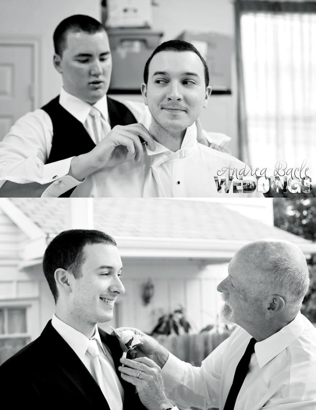 bw groom getting ready galveston