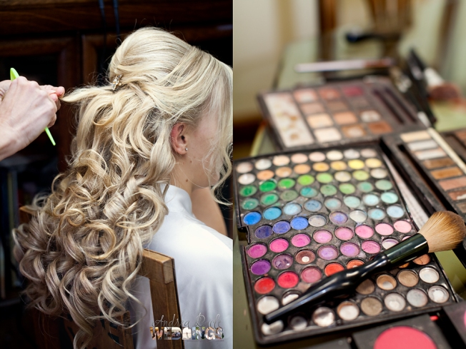 weddings blog bride getting ready galveston